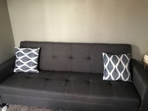 Grey Couch/storage/bed in Fairfield, California