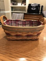 Longaberger Small Daily Blessings Basket (Autumn Reflections) with Protector and Liner in Lockport, Illinois
