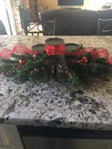 Christmas centerpiece in Travis AFB, California