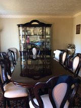 dinning set for 6 with china cabinet in Kingwood, Texas