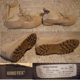 GORE-TEX COLD/WET WEATHER BOOT ARMY DESERT COMBAT BOOTS size 10 W in Wiesbaden, GE