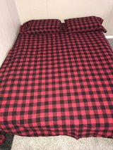 Queen size bed with box spring in Watertown, New York
