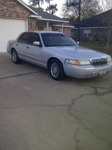 2002 MERCURY GRAND MARQUIS in DeRidder, Louisiana