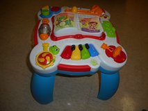 Leap Frog Toddler musical bench in Joliet, Illinois