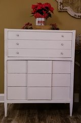 Refinished antique dresser chest in New Lenox, Illinois