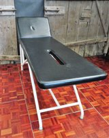 Vintage Black Massage or Examination Table in Ramstein, Germany