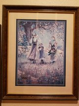 "Vintage Home Interior Wood Framed Picture  Height 23"" - Length 18 1/2"" - Width 1/2"" Vintage, - E... in Beaumont, Texas"
