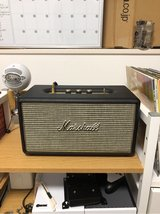Marshal Stanmore speaker/Audio Technica AT-LP60/ 20 Records in Okinawa, Japan