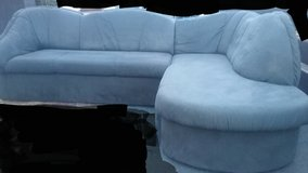 Gray L shape Couch in Ramstein, Germany