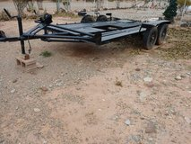 Homemade Flatbed Trailer in Alamogordo, New Mexico