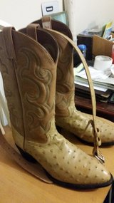 Tony Lama Ostrich Boots in Coldspring, Texas