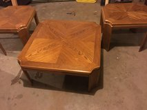 Nice wood coffee and end tables in Fort Campbell, Kentucky