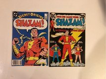 Shazam comics in Fort Leonard Wood, Missouri