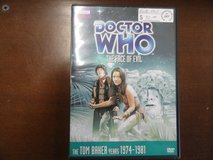 Doctor Who The Face of Evil DVD in Camp Lejeune, North Carolina