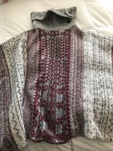 Awesome Winter Poncho S/M in Glendale Heights, Illinois