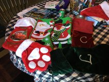 Holiday stockings in St. Louis, Missouri
