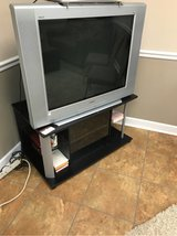 Sony TV and stand in Fort Campbell, Kentucky