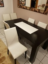 Dinning Set - Table with 6 chairs in Ramstein, Germany
