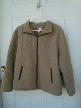 Womens Quilted Jacket Green in Kingwood, Texas