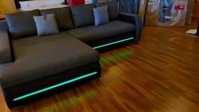 LED COUCH BRAND NEW!!! in Ramstein, Germany