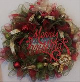 Christmas Wreath 24 in in The Woodlands, Texas