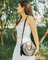 Leather bag Moon bag, pouch, purse in Stuttgart, GE