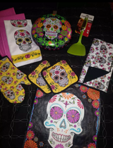 Sugar Skull kitchen lot in The Woodlands, Texas