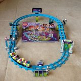 Lego Friends Amusement Park with Roller Coaster in Okinawa, Japan