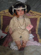 Indian girl doll in Houston, Texas
