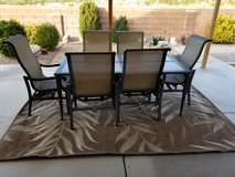 Patio table set in Alamogordo, New Mexico