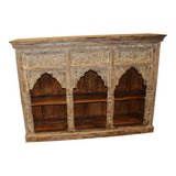 Antique Indian Jharokha Triple Arch Wall Shelf in Birmingham, Alabama