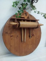 Antique Bread board with accessories in Wiesbaden, GE