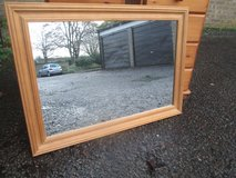 SOLID PINE MIRROR in Lakenheath, UK