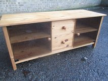 PINE TV CABINET UNIT in Lakenheath, UK