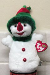 REDUCED - Snowgirl Ty Beanie Baby in Lakenheath, UK