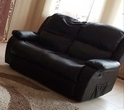 2 Pieces leather Couch set in Baumholder, GE