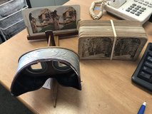 Antique Stereoscope Viewer in Chicago, Illinois