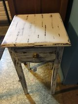 Small table 14 x 14 one drawer in Spring, Texas
