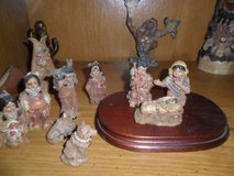 Native American Nativity Scene in Cleveland, Texas