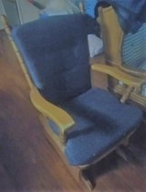 Almost New Blue Rocker Glider in Fort Polk, Louisiana