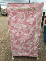 Pink camo rolling wardrobe in Alamogordo, New Mexico