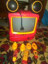 Mickey TV with DVD player in Camp Lejeune, North Carolina