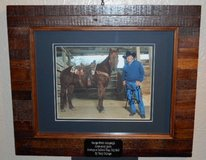 George Strait autographed photo in Alamogordo, New Mexico