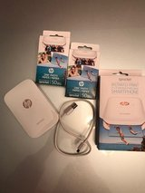 HP Sprocket – Portable Printer for Smartphone or Tablet - Mint Condition!  Only used one day! in Batavia, Illinois