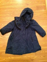 Girls ROTHSCHILD hooded winter coat 4T in Camp Lejeune, North Carolina