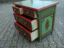 Antique chest of drawer Farmhouse handpainted in Wiesbaden, GE
