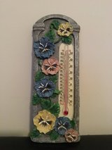 NEW Pansy Wall Hanging Thermometer in Camp Lejeune, North Carolina