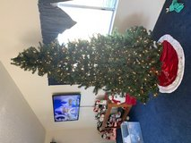 9ft. Artificial tree with lights. excellent cond in Yucca Valley, California