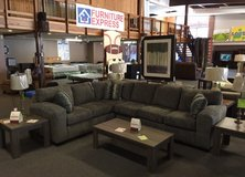 Awesome Two Piece Stationary Sectional in Fort Leonard Wood, Missouri