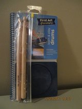 First Act Discovery Learn & Play Drums includes  Drum Pad, Drumsticks- Rare Find in Chicago, Illinois